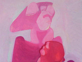 Maria Lassnig ( 1919–2014 ), DIE GROSSE MUTTER, 1964